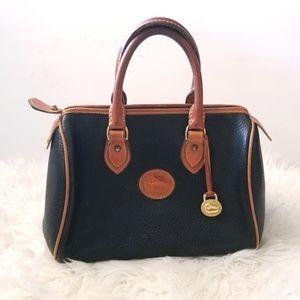 Vtg dooney & bourke all weather leather satchel
